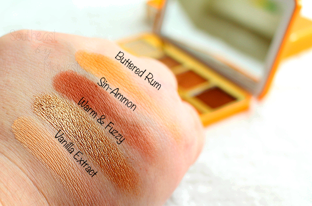 Too Faced Hot Buttered Rum Palette Row 2 Swatches || Southeast by Midwest #beauty #bbloggers #toofaced