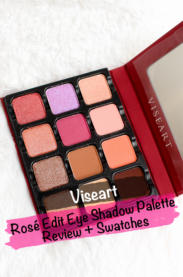 Viseart Rose Edit Palette || Southeast by Midwest #beauty #bbloggers #viseartlove #viseartroseedit