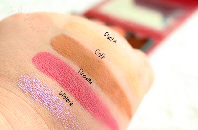 Viseart Rose Edit Palette Swatches Row 2 || Southeast by Midwest #beauty #bbloggers #viseartlove #viseartroseedit