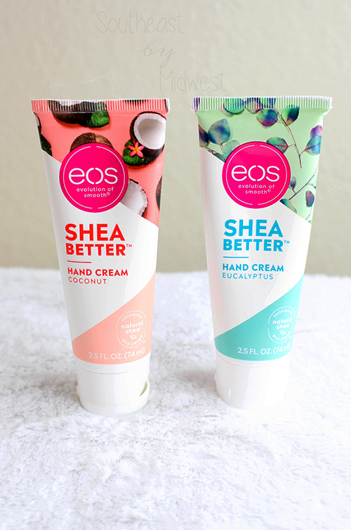 EOS Shea Butter Hand Cream Review Up Close || Southeast by Midwest #prsample #beauty #bbloggers #eosproducts #eoshandcream #eossheabetter