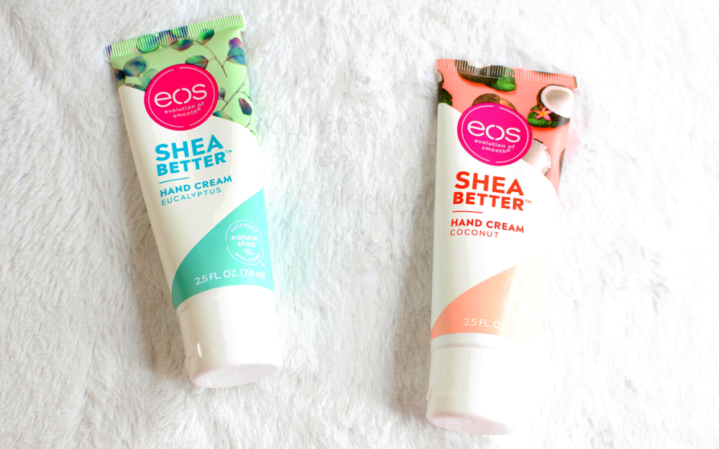 EOS Shea Butter Hand Cream Review Featured Image || Southeast by Midwest #prsample #beauty #bbloggers #eosproducts #eoshandcream #eossheabetter