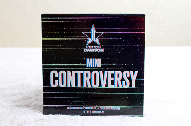 Jeffree Star x Shane Dawson Mini Controversy Front || Southeast by Midwest #jeffreestarcosmetics #minicontroversy #shanexjeffree #beauty #bbloggers