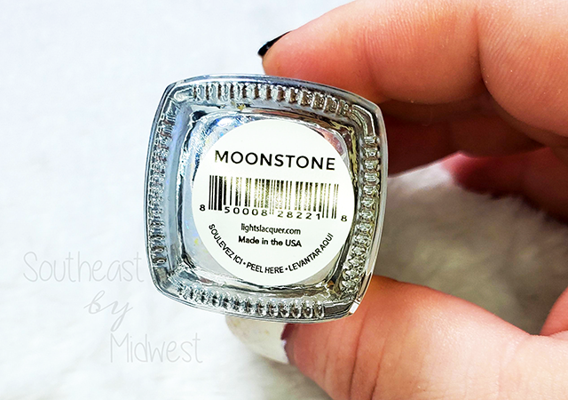 Lights Lacquer Moonstone Label || Southeast by Midwest #beauty #bbloggers #nailpolish #mainimonday #lightslacquer