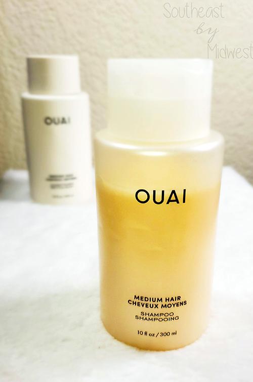 Ouai for Medium Hair About || Southeast by Midwest #beauty #bbloggers #findyourouai #ouaimedium #ouai #ouaihaircare