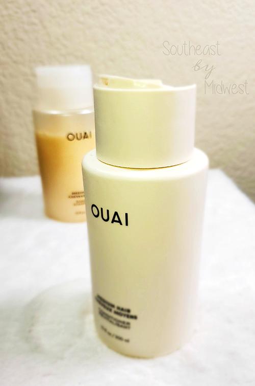 Ouai for Medium Hair Review || Southeast by Midwest #beauty #bbloggers #findyourouai #ouaimedium #ouai #ouaihaircare
