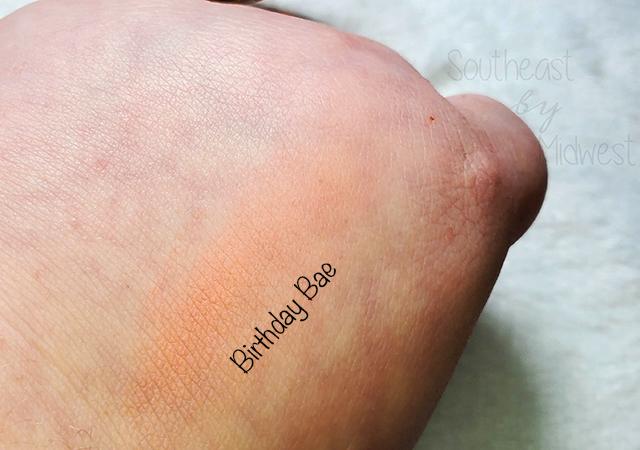 Tarte BDay Bae Blush Swatch || Southeast by Midwest #beauty #bblogger #tartecosmetics #tartebirthday
