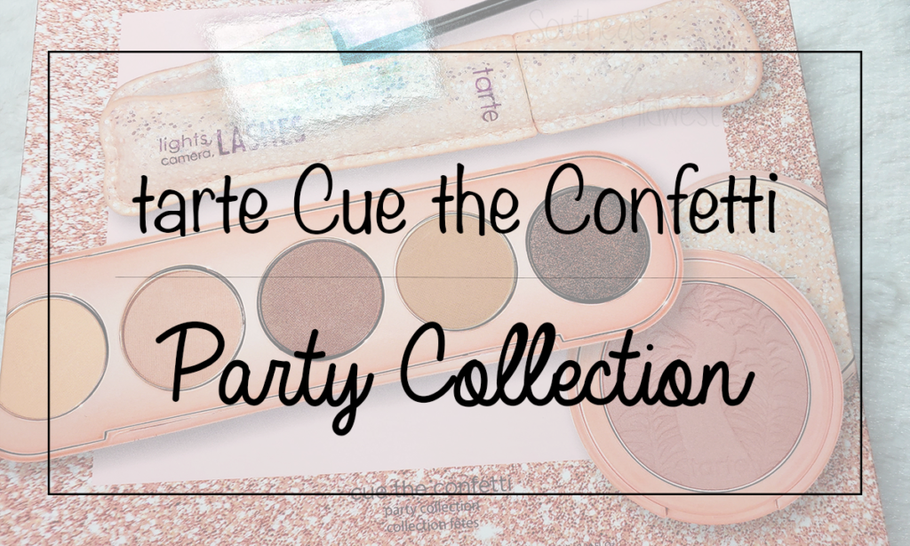 Tarte Cue the Confetti Collection Featured Image || Southeast by Midwest #beauty #bbloggers #tartecosmetics #tartebirthday