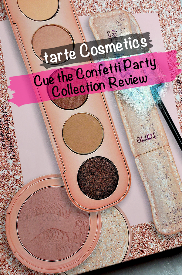 Tarte Cue the Confetti Collection || Southeast by Midwest #beauty #bbloggers #tartecosmetics #tartebirthday