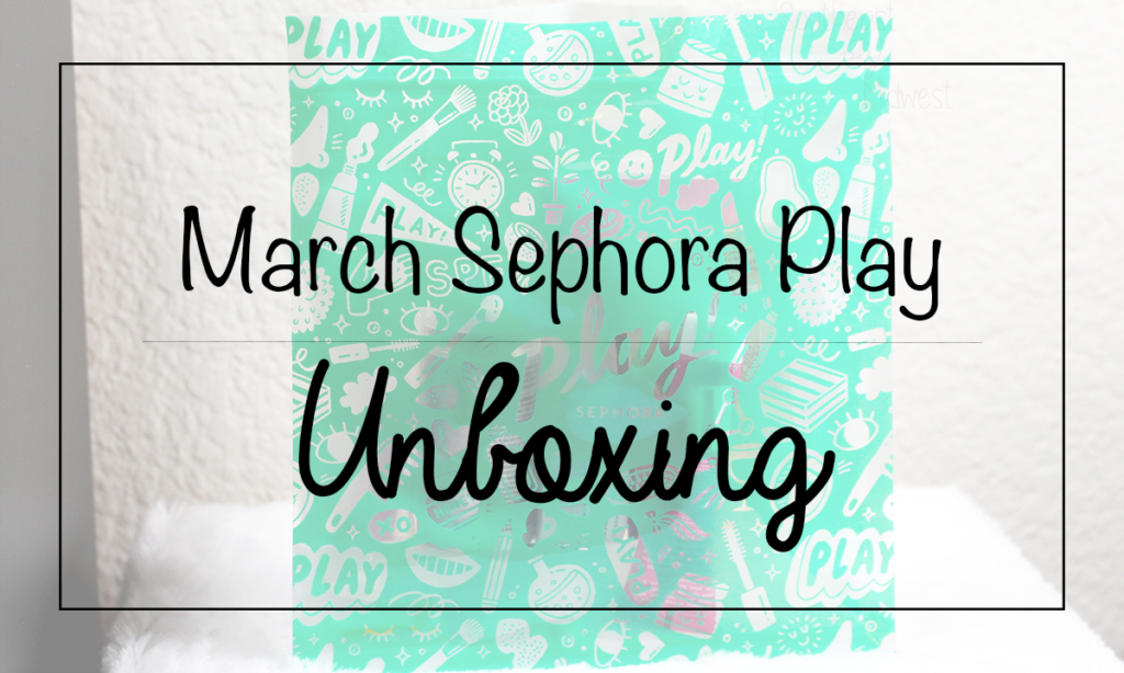 March 2020 Sephora Play Featured Image || Southeast by Midwest #beauty #bbloggers #sephoraplay #subscriptionbox