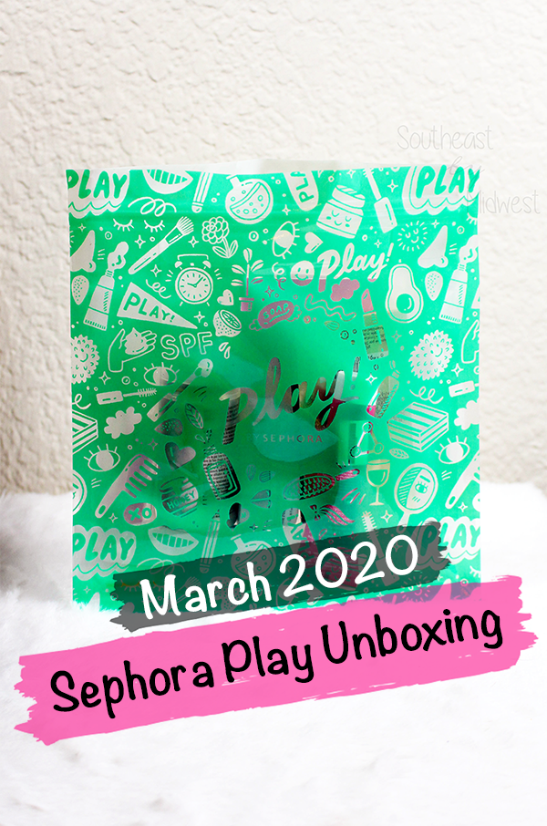 Sephora Subscription Box Reviews: March Sephora Play Unboxing