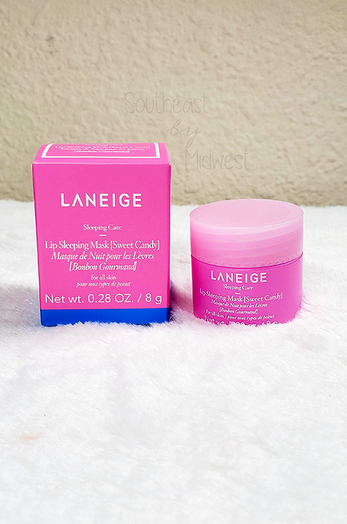 Laneige Lip Mask Sweet Candy About    Southeast by Midwest #beauty #bbloggers #lipmask #laneigeus #laneige