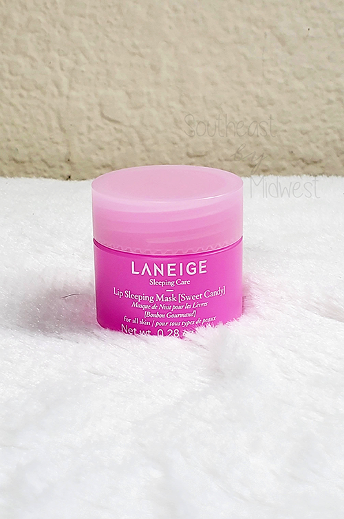 Laneige Lip Mask Sweet Candy Packaging    Southeast by Midwest #beauty #bbloggers #lipmask #laneigeus #laneige