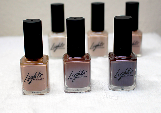 Lights Lacquer YNBB Deeper Shades || Southeast by Midwest #beauty #bbloggers #manimonday #lightslacquer