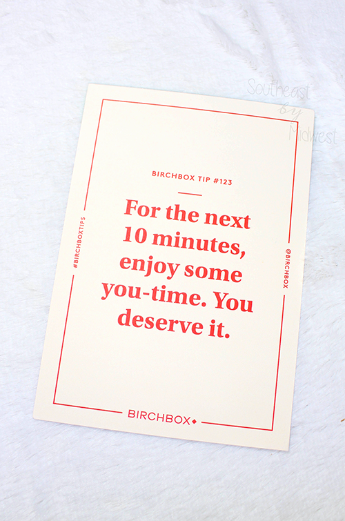 May 2020 Birchbox Unboxing About || Southeast by Midwest #beauty #bbloggers #subscriptionbox #birchbox