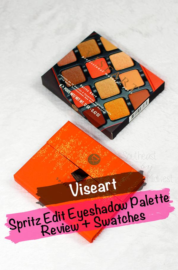 Viseart Spritz Palette    Southeast by Midwest #beauty #bbloggers #viseart #viseartspritz #vieartparis #eyeshadowpalette