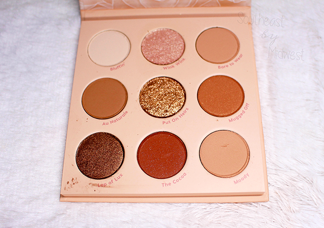 ColourPop Nude Mood Up Close || Southeast by Midwest #beauty #bbloggers #colourpop #eyeshadow
