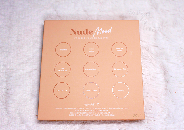 ColourPop Nude Mood Final Thoughts || Southeast by Midwest #beauty #bbloggers #colourpop #eyeshadow