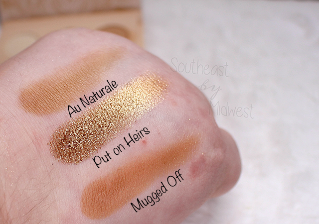 ColourPop Nude Mood Row 2 Swatches || Southeast by Midwest #beauty #bbloggers #colourpop #eyeshadow