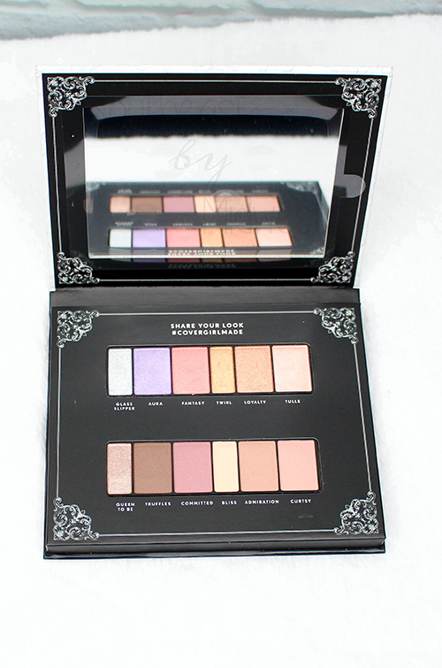 CoverGirl Ascension Palette Open || Southeast by Midwest #beauty #bbloggers #eyeshadow #covergirl #covergirlmade