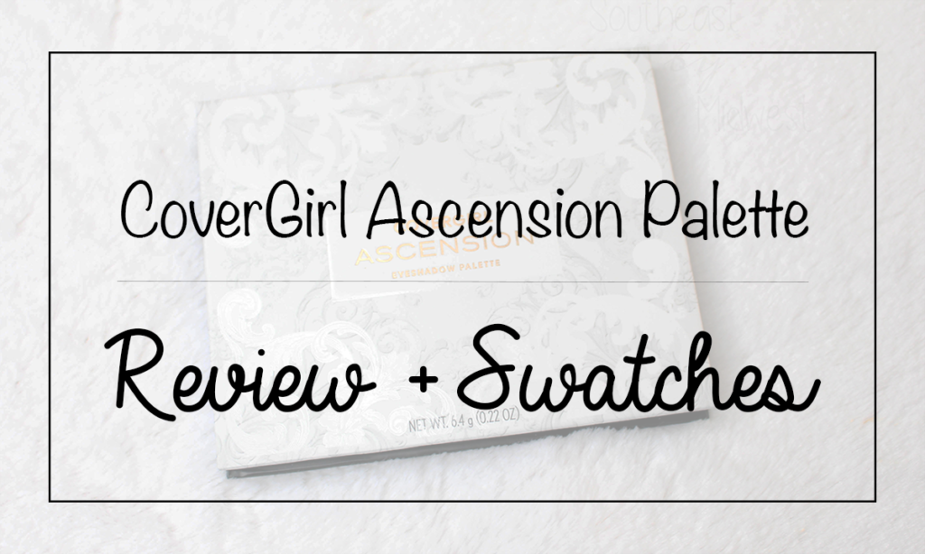 CoverGirl Ascension Palette Featured Image || Southeast by Midwest #beauty #bbloggers #eyeshadow #covergirl #covergirlmade