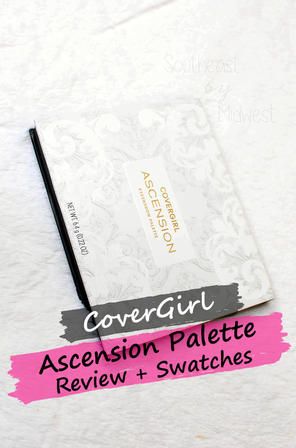 CoverGirl Ascension Palette || Southeast by Midwest #beauty #bbloggers #eyeshadow #covergirl #covergirlmade