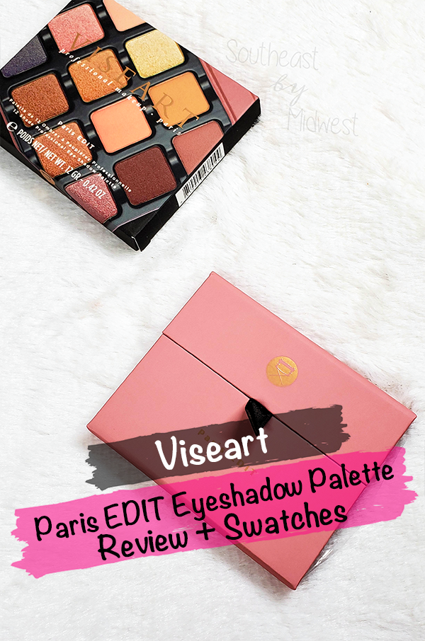 Viseart Paris Palette || Southeast by Midwest #beauty #bbloggers #viserart #viseartparis #parisedit #eyeshadow