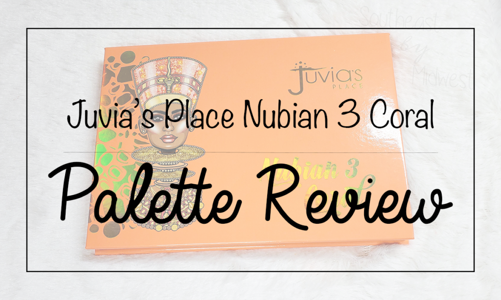 Juvia's Place Coral Palette Featured Image || Southeast by Midwest #beauty #bbloggers #eyeshadow #juviasplace