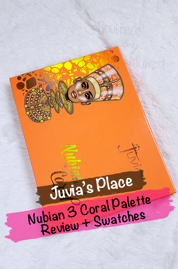 Juvia's Place Coral Palette || Southeast by Midwest #beauty #bbloggers #eyeshadow #juviasplace