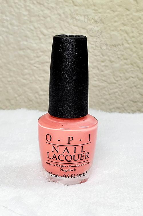 OPI Jambalaya Nail Polish About || Southeast by Midwest #beauty #bbloggers #nailpolish #manimonday #opi
