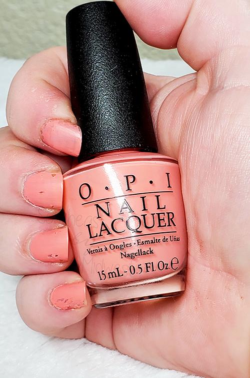 OPI Jambalaya Nail Polish Matte Top Coat || Southeast by Midwest #beauty #bbloggers #nailpolish #manimonday #opi