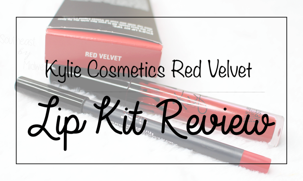 Kylie Lip Kit in Red Velvet Featured Image || Southeast by Midwest #beauty #bbloggers #kyliecosmetics