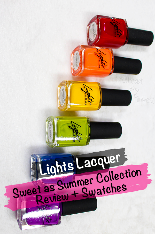 Lights Lacquer Summer 2020 Collection || Southeast by Midwest #beauty #manimonday #nailpolish #lightslacquer #kathleenlights