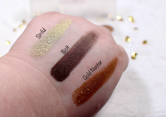 Pat McGrath Sublime Palette Swatch 1 || Southeast by Midwest #beauty #bbloggers #patmcgrath #patmcgrathlabs