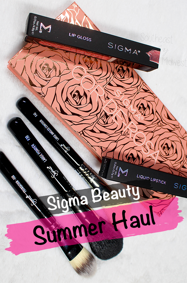 Sigma 2020 Haul || Southeast by Midwest #beauty #bbloggers #sigmabeauty #sigmabrushes #sigmahaul #beautyhaul