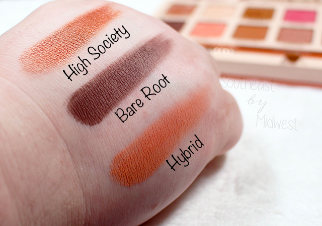 Sigma Cor de Rosa Palette Row 3 Swatches || Southeast by Midwest #beauty #bbloggers #sigmabeauty #sigmacorderosa