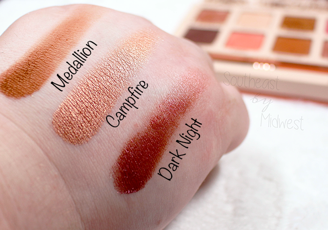 Sigma Cor de Rosa Palette Row 4 Swatches || Southeast by Midwest #beauty #bbloggers #sigmabeauty #sigmacorderosa