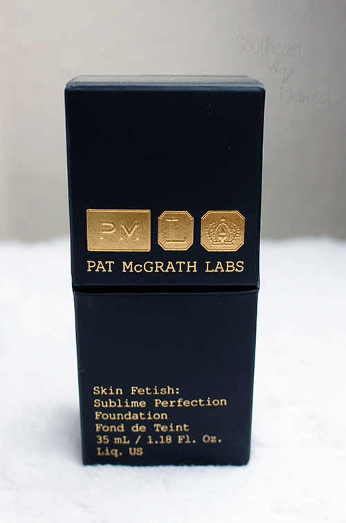 Pat McGrath Foundation Review About || Southeast by Midwest #beauty #bbloggers #patmcgrathlabs