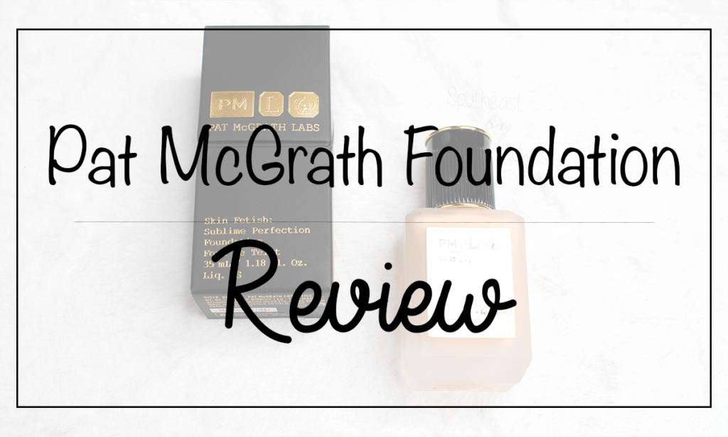 Pat McGrath Foundation Review Featured Image || Southeast by Midwest #beauty #bbloggers #patmcgrathlabs