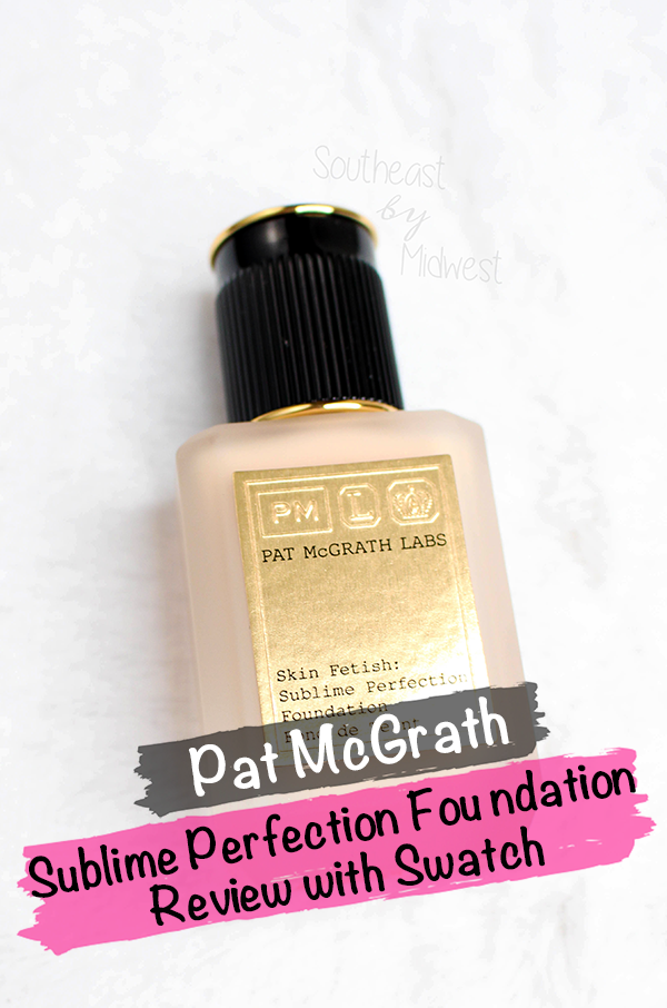 Pat McGrath Foundation Review || Southeast by Midwest #beauty #bbloggers #patmcgrathlabs