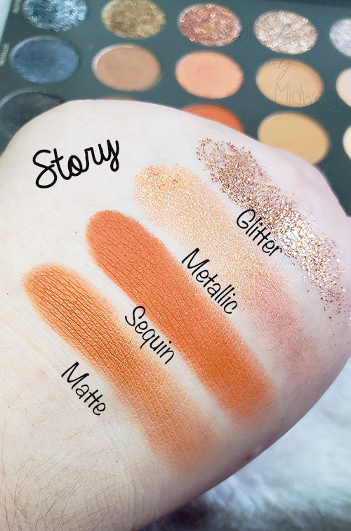 Tati Vol 1 Eyeshadow Palette Story Swatches || Southeast by Midwest #beauty #bbloggers #tatibeauty #swatches