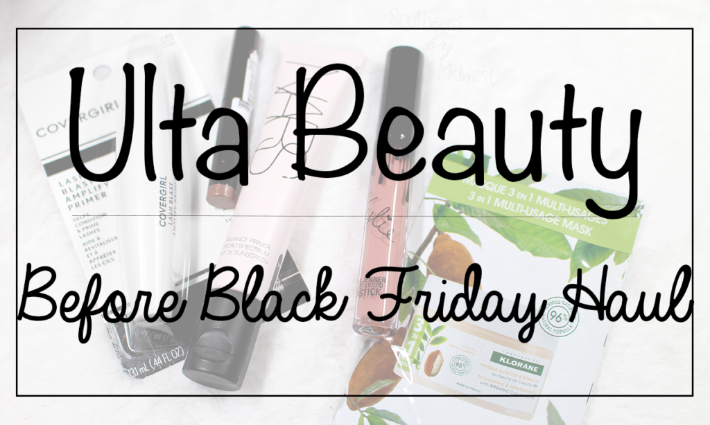 Ulta Before Black Friday Haul Featured Image || Southeast by Midwest #beauty #bbloggers #ultahaul