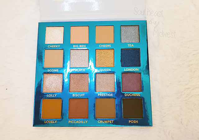 bH London Palette Open || Southeast by Midwest #beauty #bbloggers #bhcosmetics