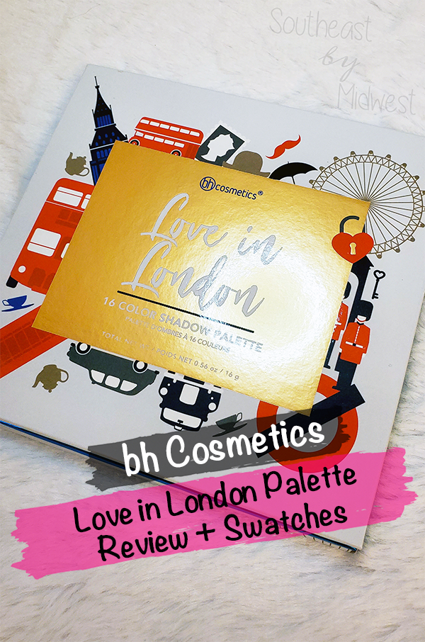 bH London Palette || Southeast by Midwest #beauty #bbloggers #bhcosmetics