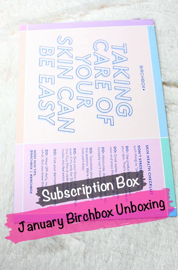 Birchbox Jan 2021 Unboxing || Southeast by Midwest #beauty #bbloggers #birchbox #subscriptionbox