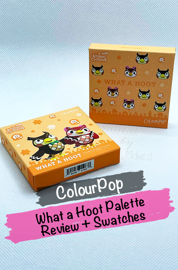ColourPop x Animal Crossing What a Hoot Palette    Southeast by Midwest #beauty #bbloggers #colourpop #colourpopxanimalcrossing #animalcrossing