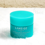 Laneige Mint Chocolate Mask Packaging    Southeast by Midwest #beauty #bbloggers #lipmask #laneige