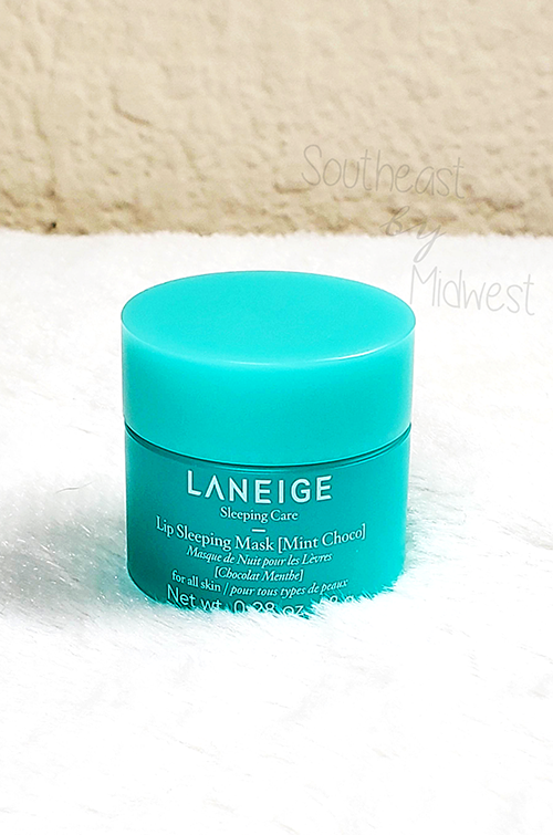 Laneige Mint Chocolate Mask Packaging || Southeast by Midwest #beauty #bbloggers #lipmask #laneige