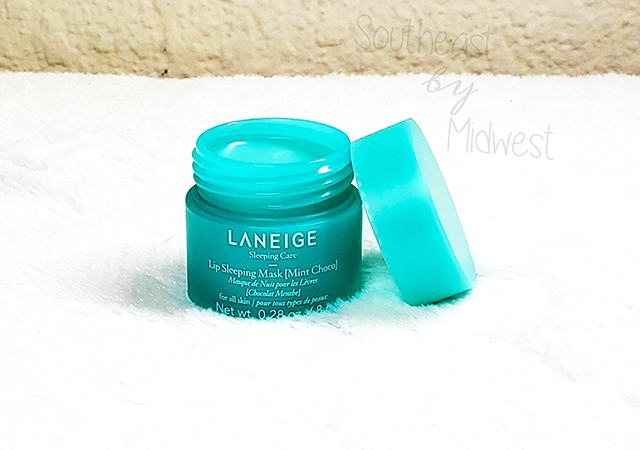 Laneige Mint Chocolate Mask Review || Southeast by Midwest #beauty #bbloggers #lipmask #laneige