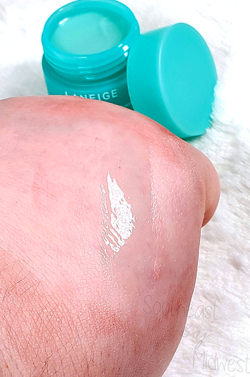 Laneige Mint Chocolate Mask Swatch || Southeast by Midwest #beauty #bbloggers #lipmask #laneige