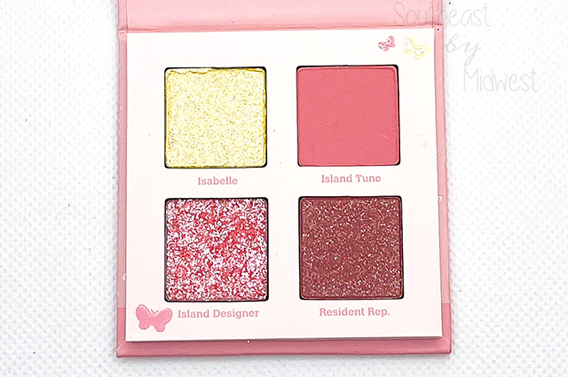 5 Star Island Palette Review || Southeast by Midwest #beauty #bbloggers #colourpop #animalcrossing